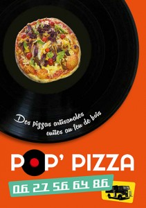 DÉPLIANT POP'PIZZA EDITION
