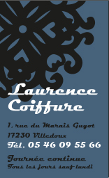 carte laurence coiffure