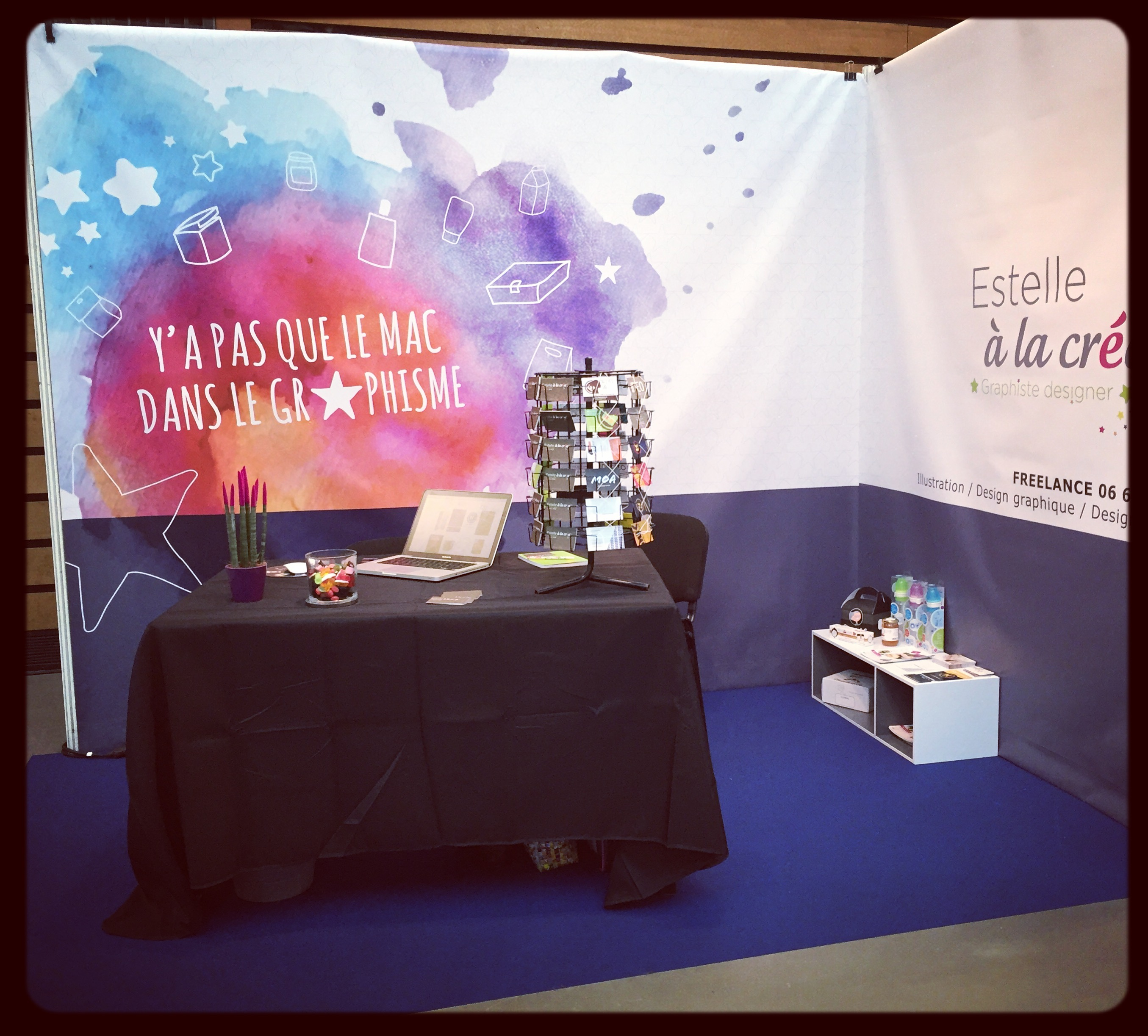 Salon de l entreprise 2015 estelle la cr a designer for Salon creation entreprise