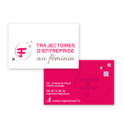 CARTES DE VISITE TEF V°- BAG